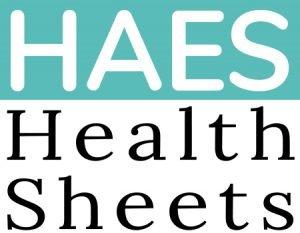 HAES Health Sheets Logo